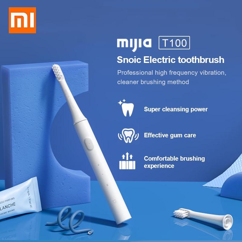 XIAOMI-cepillo de dientes eléctrico MIJIA, inalámbrico, recargable por USB, resistente al agua,...