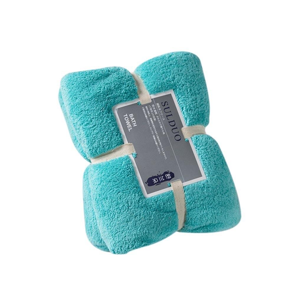 36x80cm de lana de Coral Toalla de ducha de baño toallas gruesas baño Hotel para adultos niños полотенца serviette de bain z3