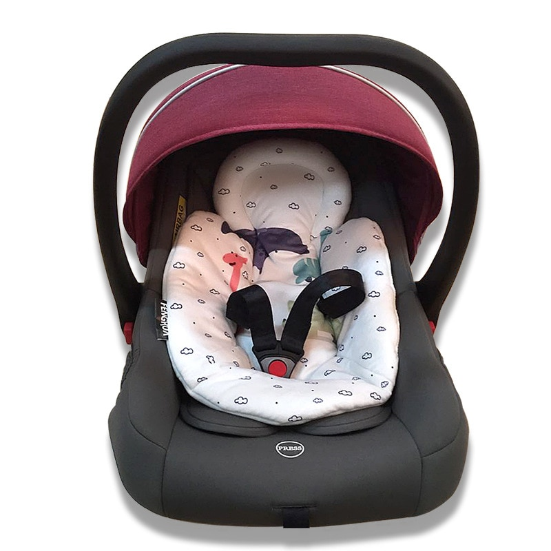 Carrinho de criança recém-nascido cabas almofada de algodão cadeira de balanço elétrica almofada de algodão almofada de assento de segurança do bebê cadeira de balanço almofada de algodão quente