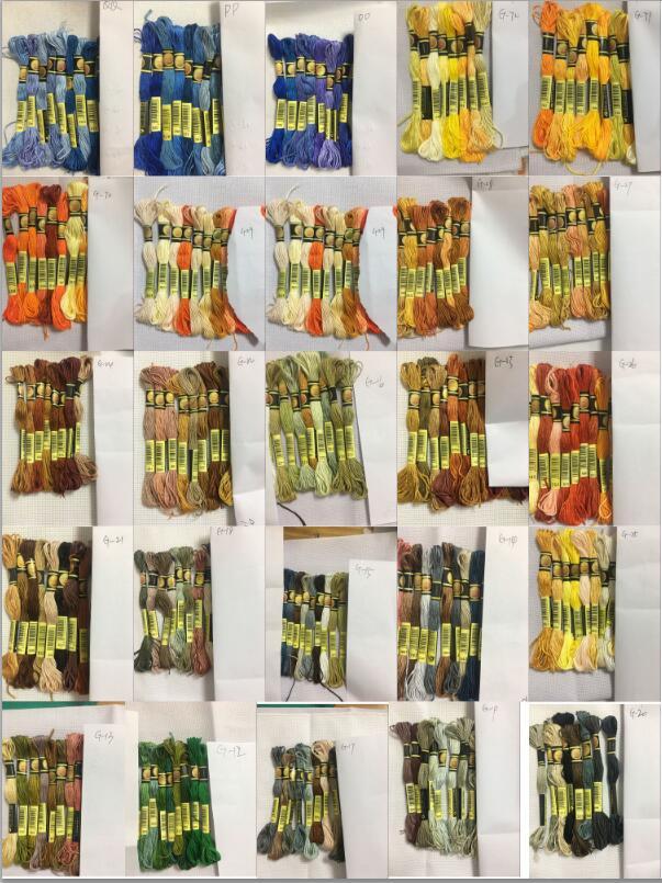 Мм cxc 8 цветов нить для вышивки крестиком нить для вышивки нить шитье, моток пряжи ремесло DIY браслет плетеный