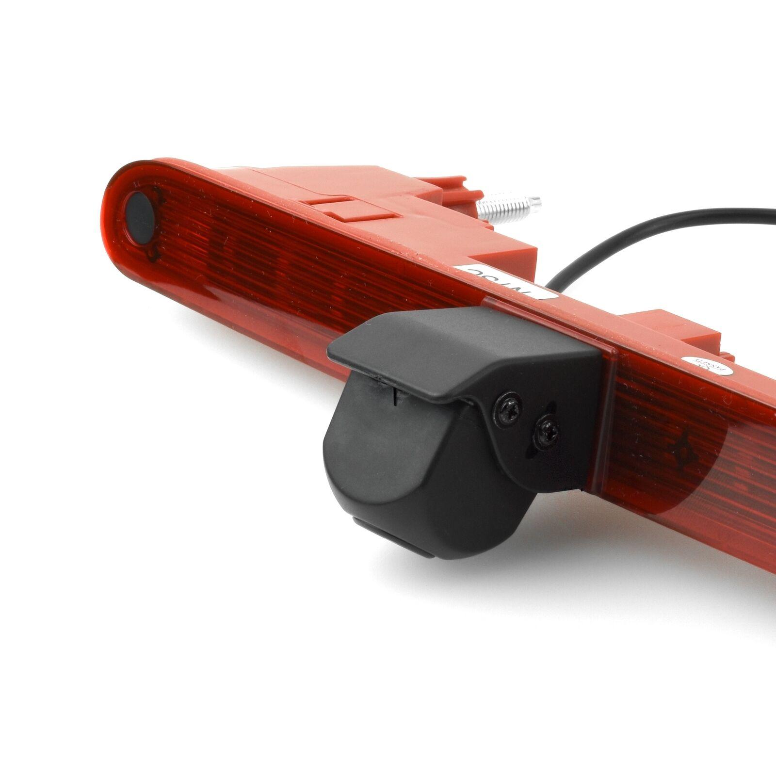 Brake Light Rear View Reverse Parking Camera For Citroen Berlingo Peugeot Partner II 2008-2016 Parking Camera Night Vision Water