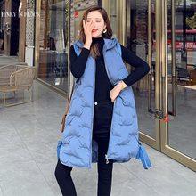 PinkyIsBlack Wholesale 2019 New Autumn Winter Vest Women Hot Selling Women's Fashion Casual Female Warm Vest Jacket Waistcoat