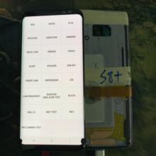 Martwy piksel dla AMOLED dla Samsung Galaxy S8 + S8 Plus G955 G955F wyświetlacz LCD ekran dotykowy rama Digitizer