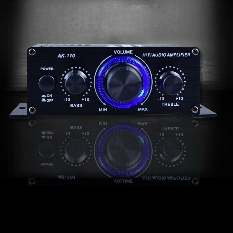 ¡Envío Gratis! Mini Amplificador de potencia de Audio estéreo Digital HIFI para...