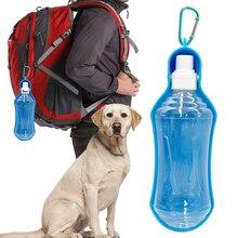 250ml botella de agua portátil para perros 3 colores botella de agua para perros mascotas viaje 500ml para perros pequeños grandes cachorro perros botella de agua