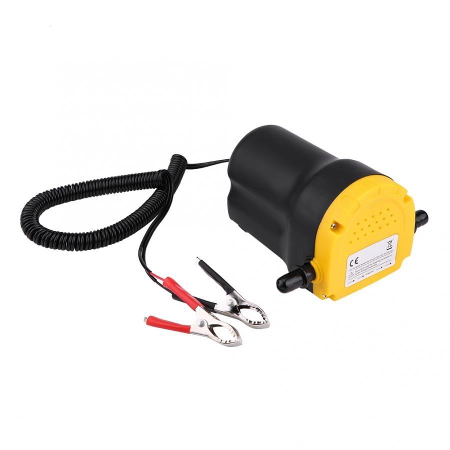DC 12V 60W Fluid Extractor Motor Oil Diesel Transfer Pump 250L/Hour For Car Motorbike Oil Pump