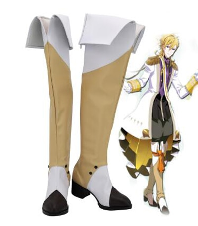 Idolish7 Merchen Rokuya Nagi botas de Cosplay zapatos hombres traje de zapatos accesorios personalizados zapatos de fiesta de Halloween