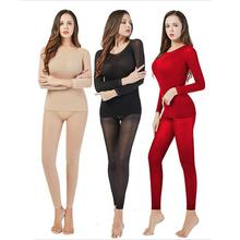 Thermal Underwear For Women Sexy Warm Long Johns Super Thin High Elastic Thermal Underwear Women Cre