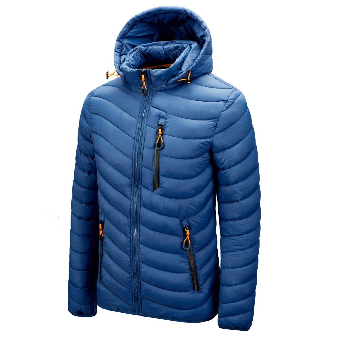Горячая Распродажа, брендовая зимняя теплая водонепроницаемая куртка для мужчин, новинка 2021, Осенние толстые парки с капюшоном, Мужская мод...