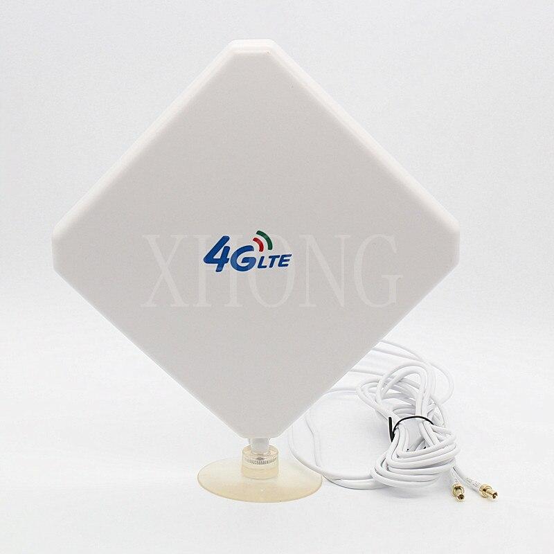 4G LTE CRC9/TS9/SMA موصل 4G هوائي الداعم لهواوي E8372 ، E8278 ، E5577 ، E8377 ، E5372 و ZTE R216 ، MF920 ، MF90C وهلم جرا.
