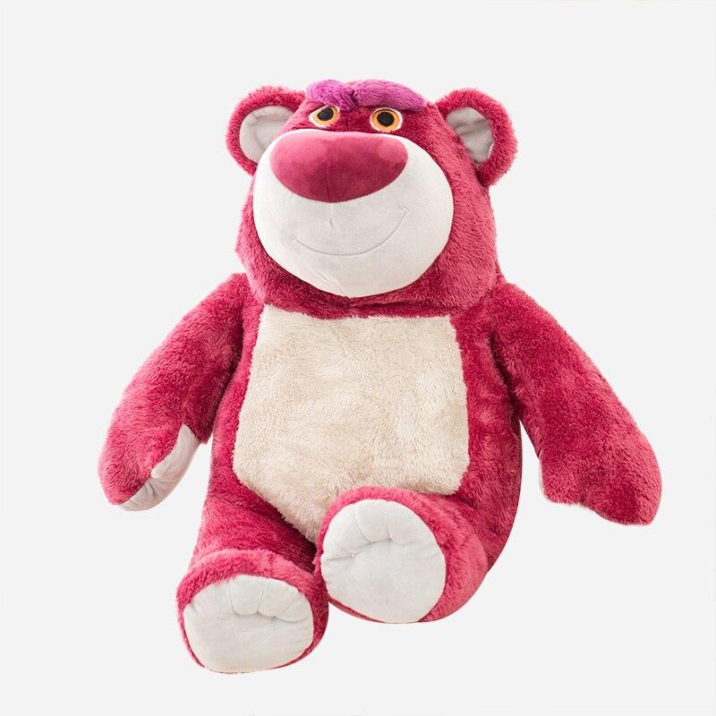 38cm Kawaii juguete historia Lotso de oso de peluche de juguete de peluche muñeco de oso Super suave juguete regalo para niños niñas bebé