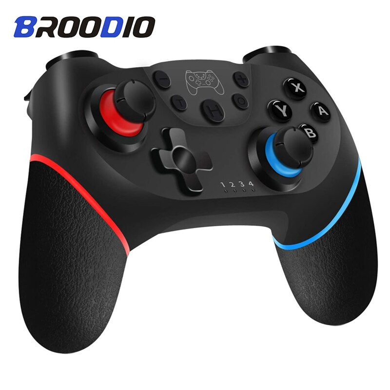 Bluetooth Wireless Gamepad For Nintendo Switch Pro NS-Switch Pro Game Joystick Controller For Nintendo Manette Sans Fil Controls геймпад nintendo switch pro controller