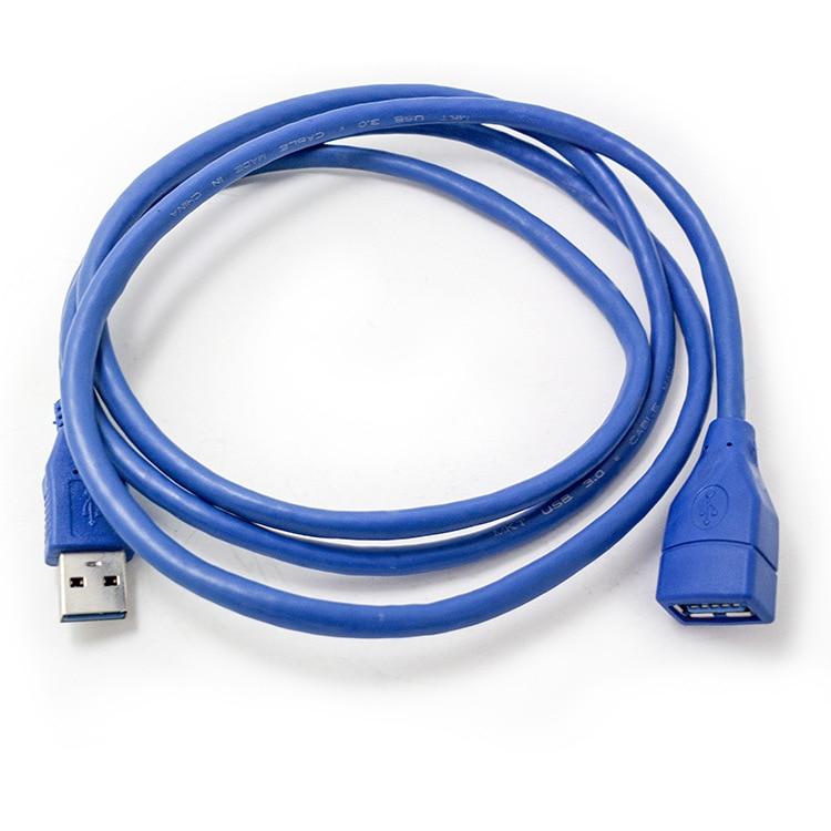 Alta qualidade 1/1.5/2/3m anti-interferência usb 2.0 cabo de extensão usb 2.0 macho para usb 2.0 fêmea extensão cabo de cabo de sincronização de dados