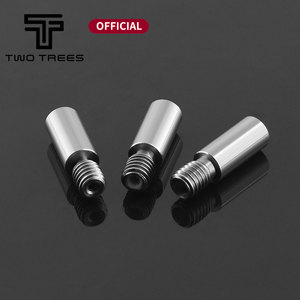 3D Printer Cold Water Throat For E3D Accessories Hot End Throat Stainless Steel 3D Printer Acessories With PTFE Tube 3D Printer
