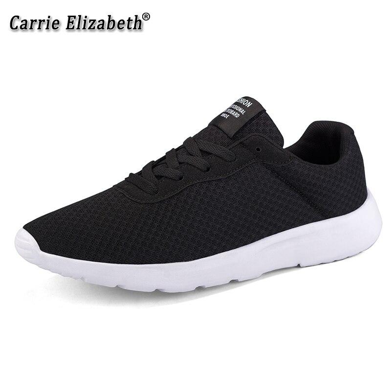 Zapatos de ocio transpirables para hombres zapatillas de deporte cómodas para caminar al aire libre para correr zapatos de malla superior para hombres zapatos de gran tamaño