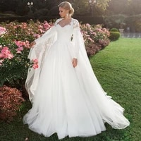 gorgeous a line wedding dresses with bolero jacket long sleeves sweetheart beading lace tulle sweep train bridal dress gowns