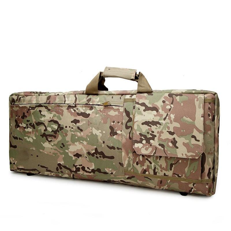 Funda táctica militar para Rifle de francotirador, bolsa de pistola Airsoft para exteriores, bolsa deportiva para llevar al hombro, fundas de caza, funda protectora para arma del ejército