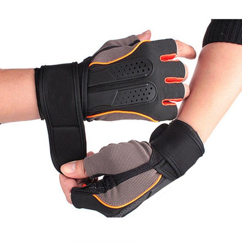 Guantes de levantamiento de pesas para hombre y mujer, guantes de entrenamiento Crossfit para gimnasio, guantes deportivos antideslizantes transpirables de verano para ejercicio
