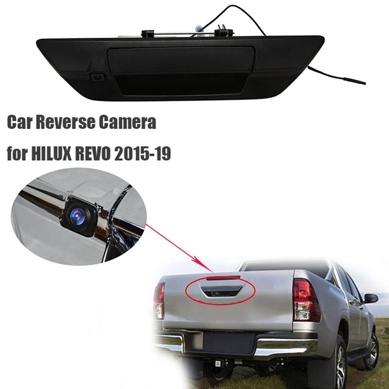 Car Reverse Camera Rear View Parking System Backup Kit Waterproof Cameras for Toyota HILUX REVO ROCCO 2015-19 PICKUP