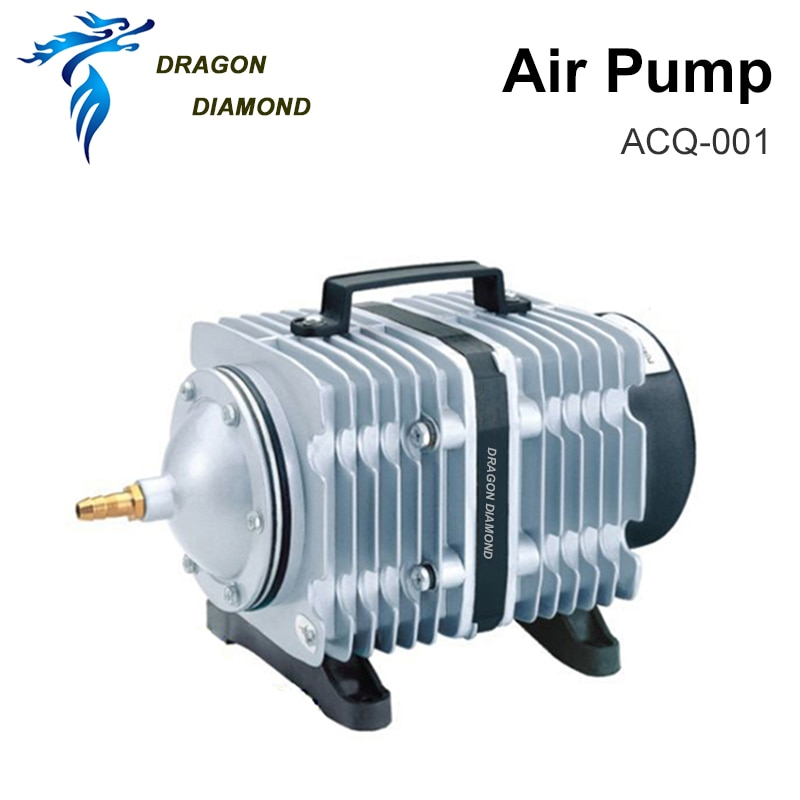 ACQ-001 25Lpm Air Pump Compressor BOYU AC 220-240V (New) Electromagnetic Air Compressor For Laser Cut Machine Spare Parts