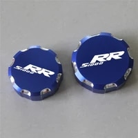 for bmw s1000 rr s1000rr 2008 2021 2017 2018 2019 2020 cnc aluminum motorcycle front and rear brake fluid reservoir cap cover