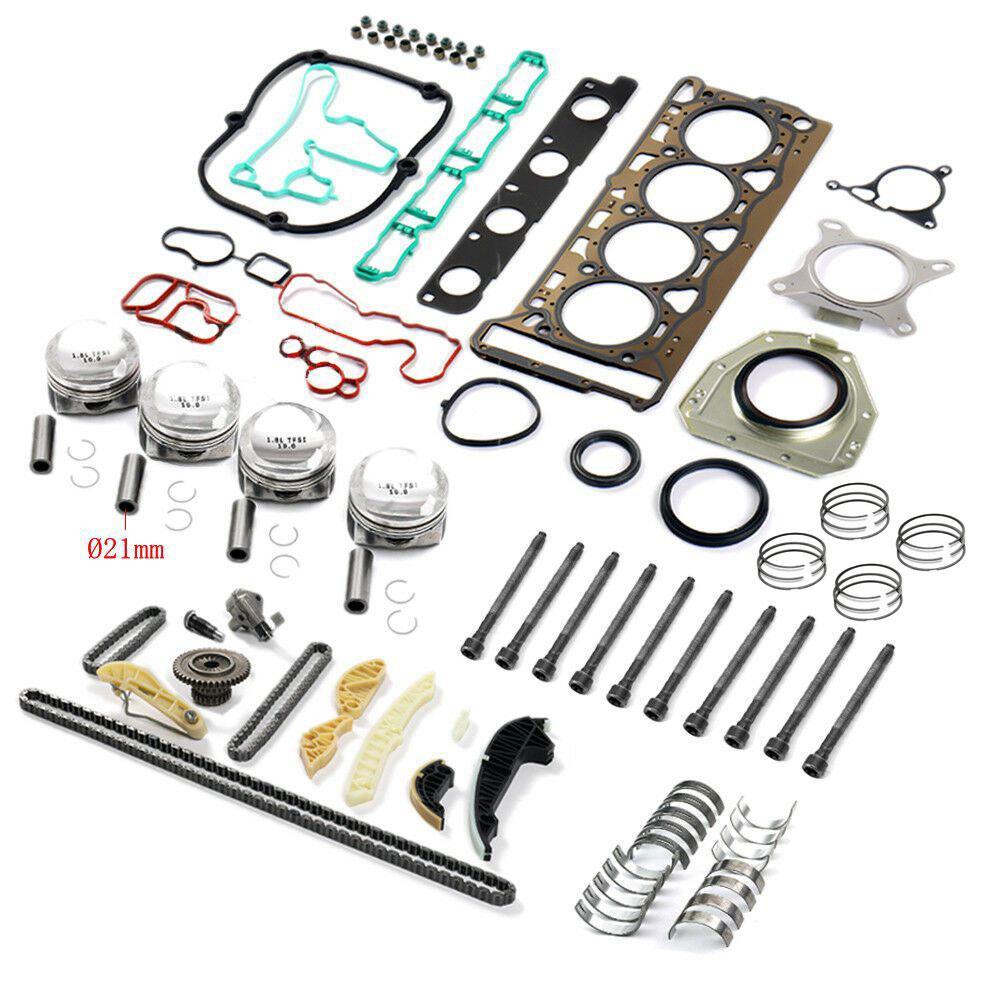 طقم إصلاح وإعادة بناء أسطوانة المكبس ، لـ VW ، Audi ، Skoda ، 1.8 TSI ، BZB ، CDAB ، CDHA ، CDHB ، CDAA