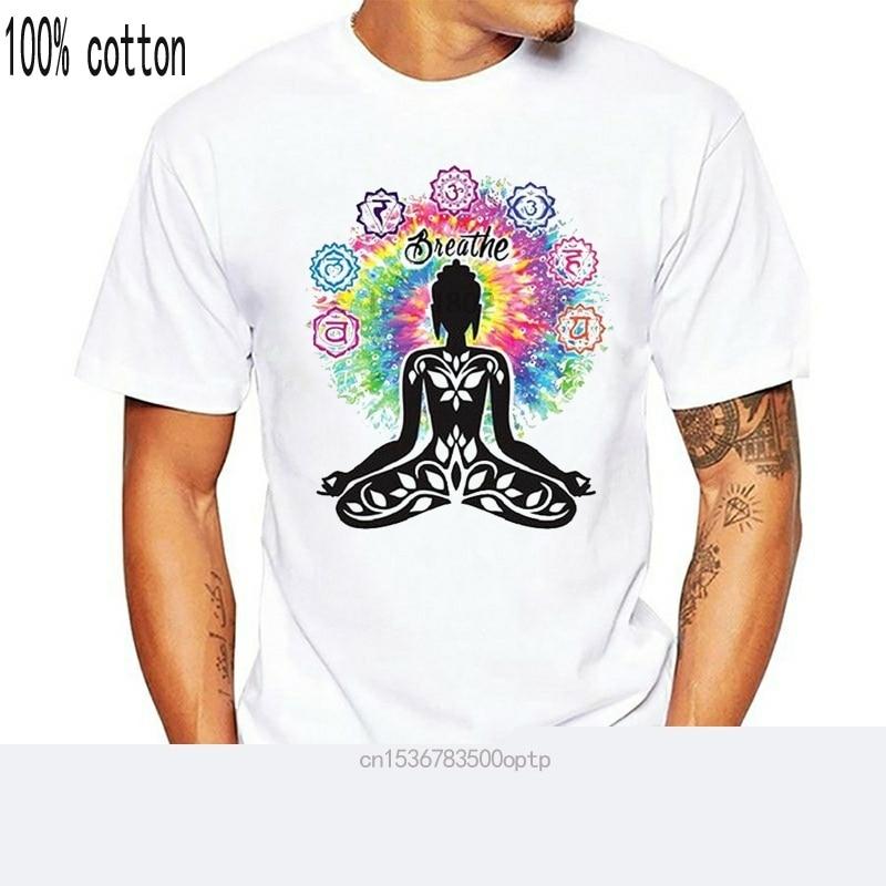 Ацтекская Йога Будда чакра медитация дыхание Ретро крутая винтажная унисекс футболка B2|Футболки| | АлиЭкспресс