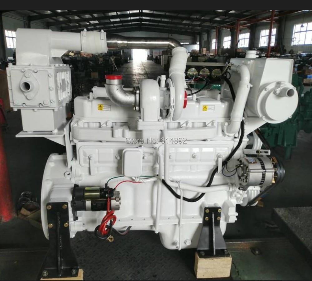 Motor diésel marino, 154kw/1500rmp, ricado R6108IZLC, motor diésel para generador de diésel marino, proveedor de China