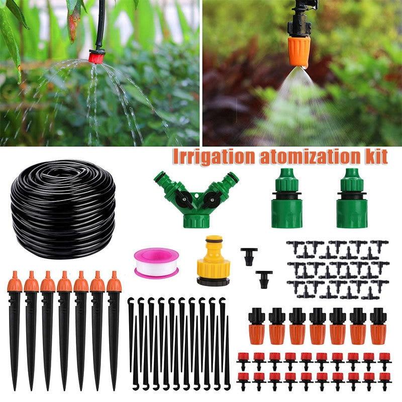 149pcs Mist Cooling Automatic Irrigation System Automatic Irrigation Equipment Set for Gardening Patio Lawn Arrosage Irrigation
