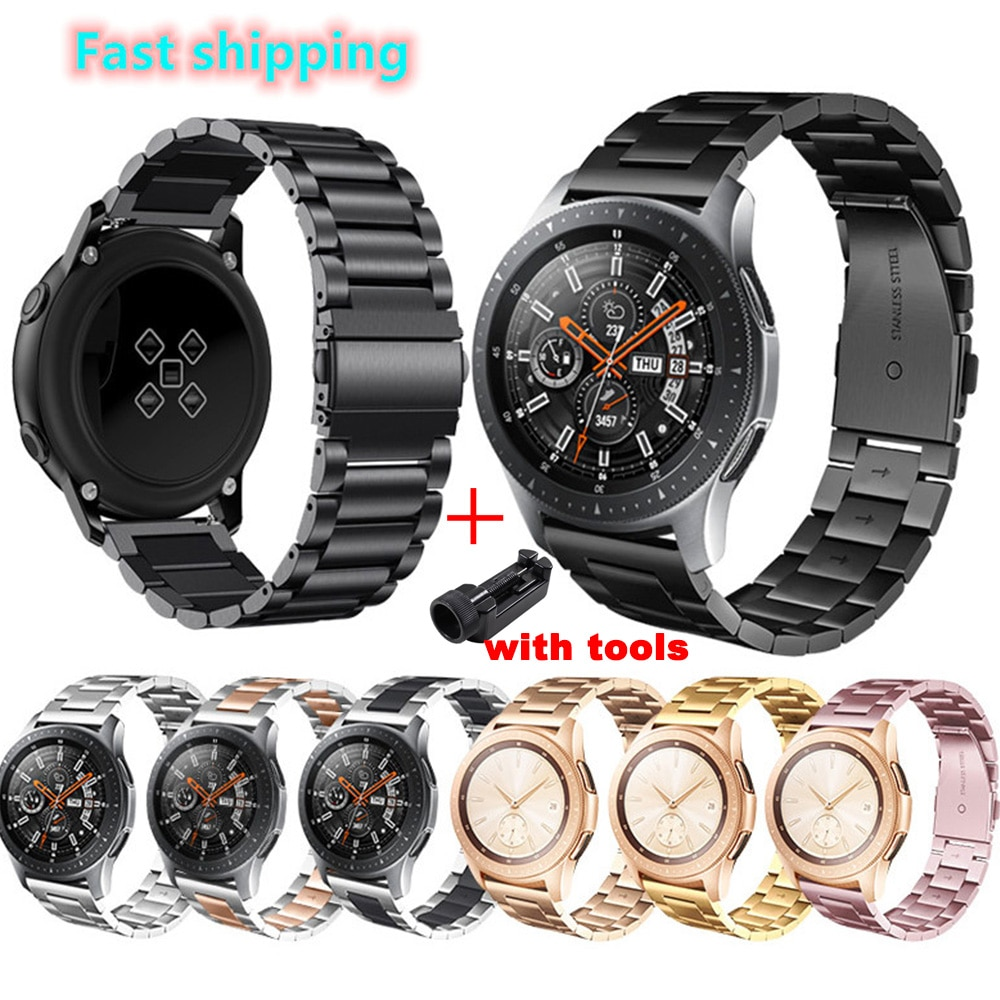 20mm 22mm Huami Amazfit Gtr Bip Strap For Samsung Gear S3 s2 Sport Classic Huawei GT 2 Active Galaxy Watch 42mm 46 Band 40 44mm