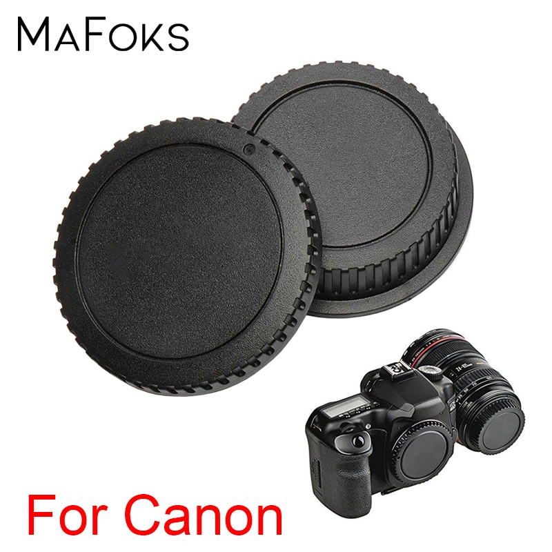 2 в 1 Задняя крышка объектива + Крышка корпуса камеры для Canon EF EF-S 60D 70D 80D 7D 5D Mark II III IV 750D 760D DSLR камер