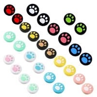 for animal crossing cat claw cap cat paw handle joystick thumb stick for nintendo switch joy con accessories increased height