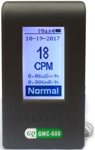 GQ GMC-600 زائد جيجر مكافحة ألفا ، غاما ، بيتا الأشعة السينية الإشعاع مراقب