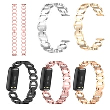 New Metal Stainless Steel For Fitbit Luxe Bracelet Wrist Smart Band Watch For Fitbit Luxe Special St