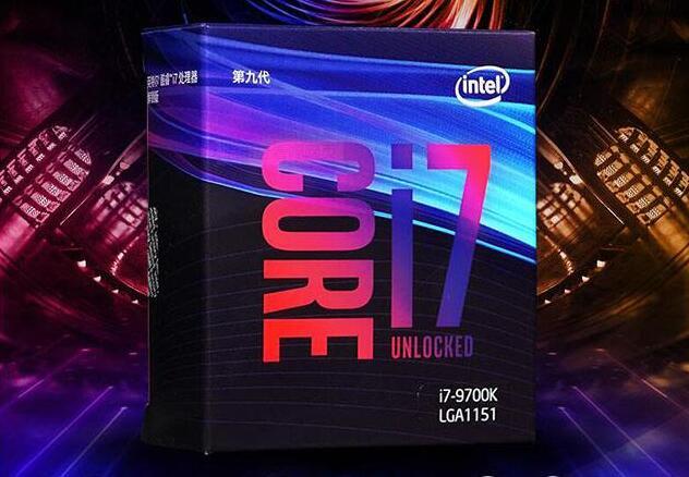 Процессор Intel Core i7-9700K i7 9700K 3,6 ГГц Восьмиядерный процессор 12 м 95 Вт LGA 1151 Герметичный и новый, но без охладителя
