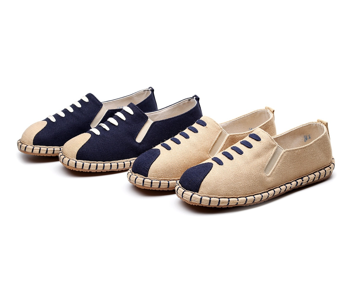 sandalias-sandalias-Chinese wind cotton breathable fabric bottom Chinese men casual shoes