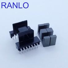 Marco de bobina RANLO EF20 6 + 8pin, núcleo de ferrita PC40