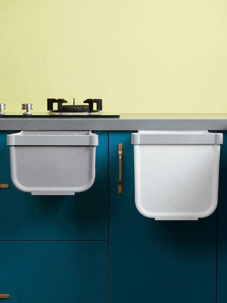 Reciclar cubo basura colgar la puerta del gabinete de cocina montado en...
