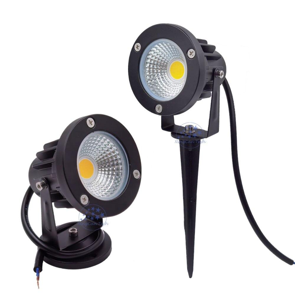 10X светодиодный уличный светильник для сада, светодиодная лампа для газона 3 Вт 5 Вт 10 Вт 9 Вт, уличный садовый светильник 12 В 220 В, уличный свет...