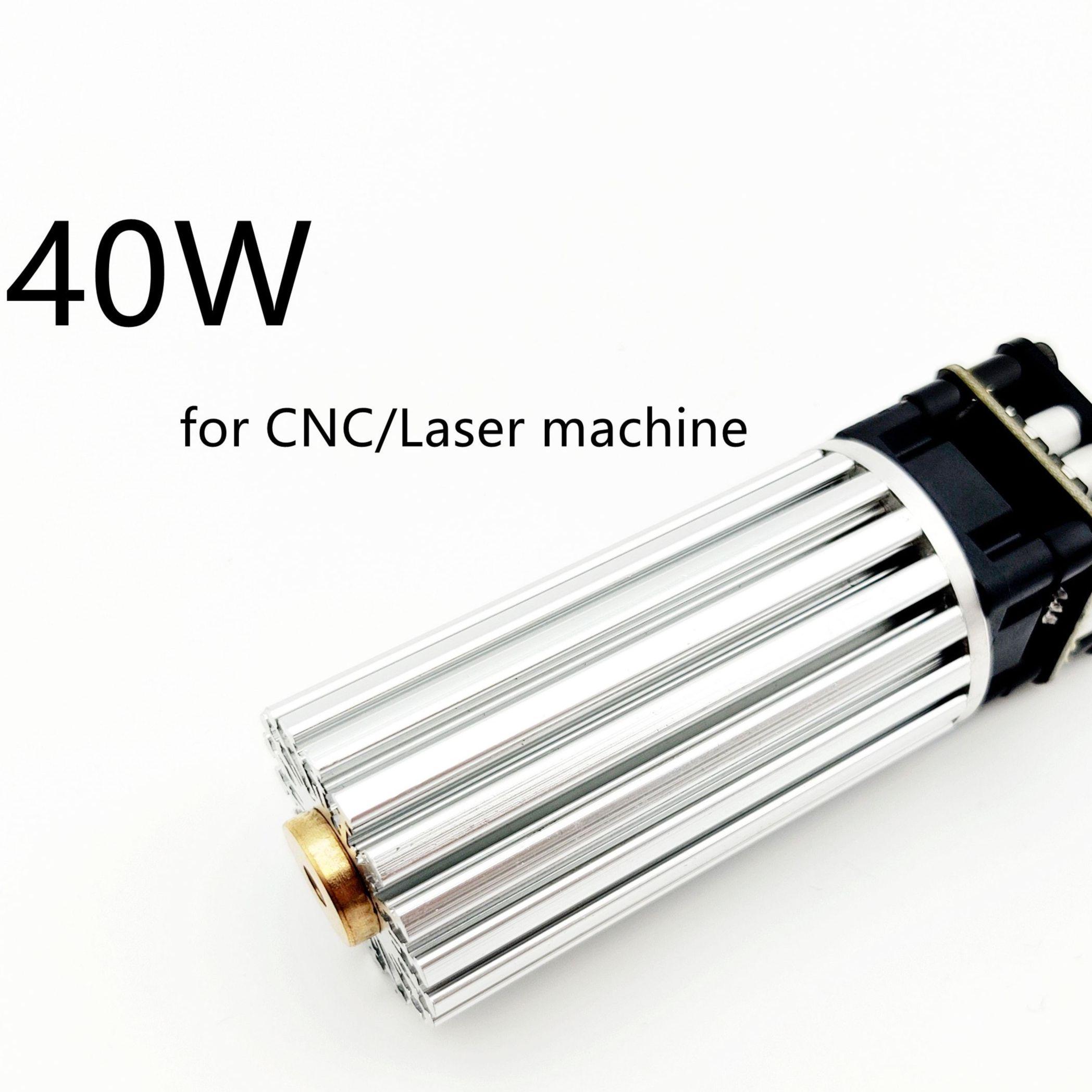40W 450nm laser module for laser engraving machine cnc3018 40w bule  laser head DIY engraving high power laser