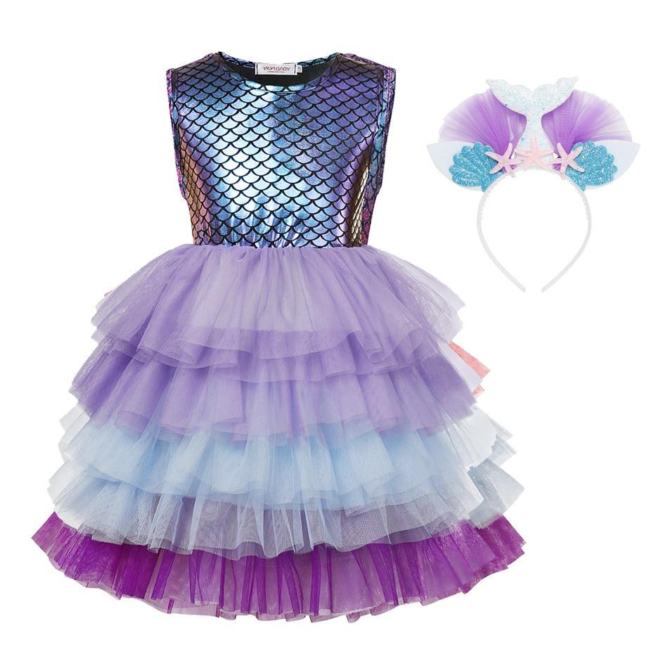 aliexpress.com - Girls Mermaid Sequins TUTU Dress  Ball Gown Performance Ballet Finsh Scale Dancing Dresses Gymnastics Leotard Dress