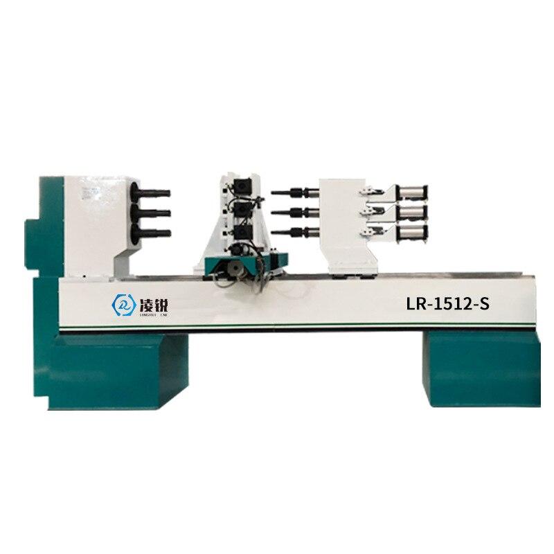 LR-1512-S автоматический токарный станок с ЧПУ, интегрированный многофункциональный деревообрабатывающий токарный станок с ЧПУ, римская колон...