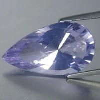 2 45 cts shimmering natural lavender quartz pear fancy cut brazil loose gemstone