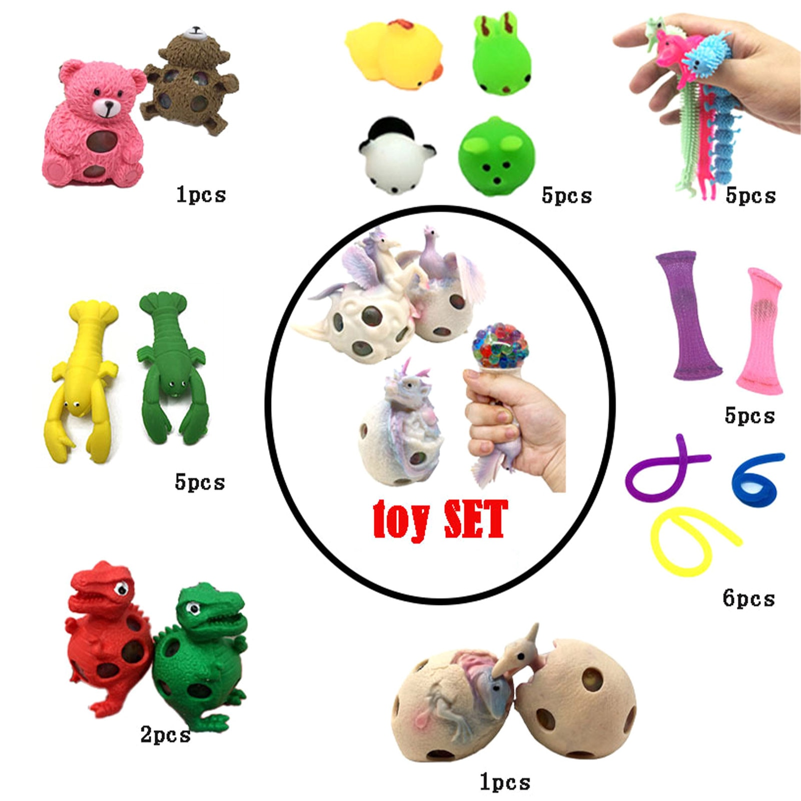 Sensory Toy Set Toys To Relieve The Stress And Anxiety Of Children And Adults People With Add Or ADHD And OCD Or Anxiety Levels