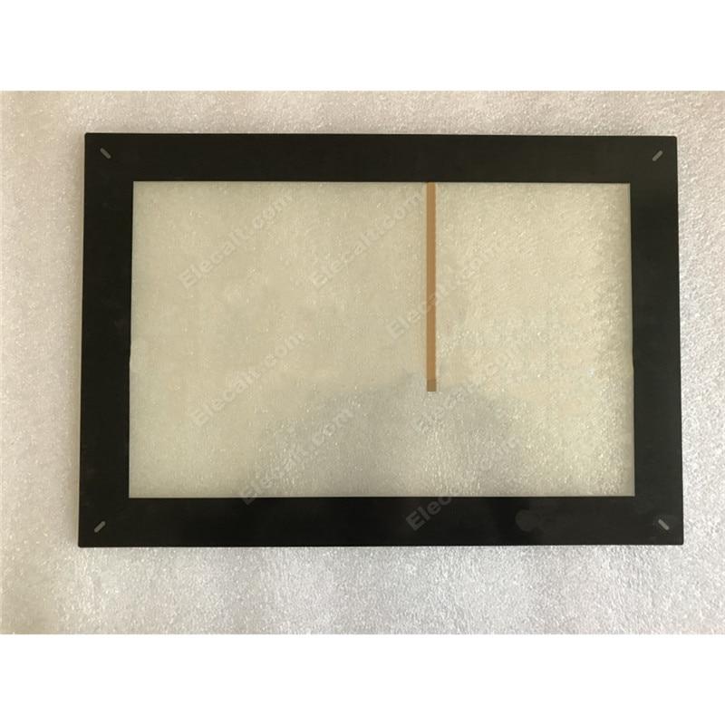 شاشة لمس زجاجية مع محول رقمي غشائي للوحة اللمس بيجر HMI X2 IXT12B IX T12B