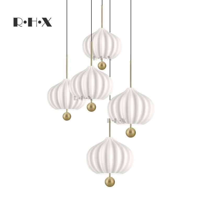مصباح معلق LED زجاجي ، مصباح معلق حديث للديكور ، مصباح مطعم ، مصباح pendente