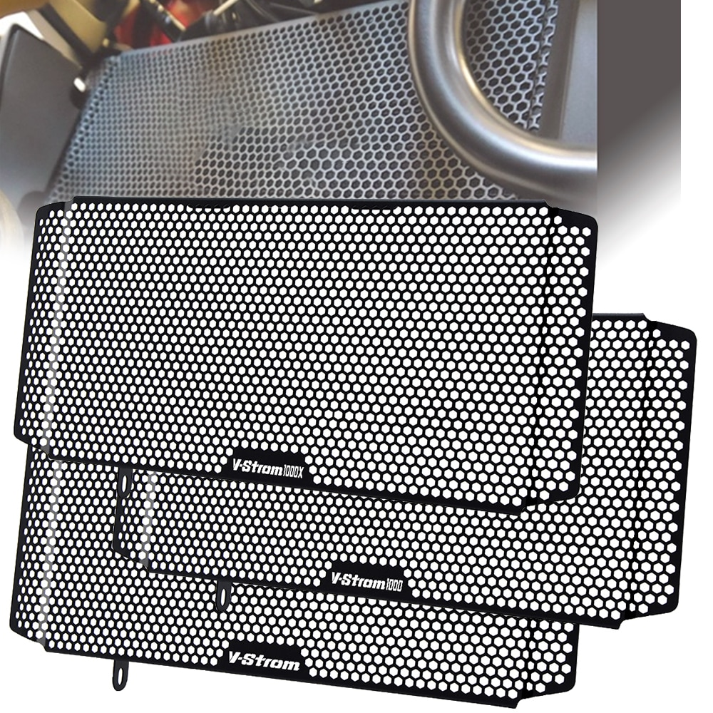 LOGO VStrom, cubierta protectora para radiador de motocicleta, para parrilla, refrigerador del radiador para Suzuki VStrom DL 1000 v-strom 1000 XT GTA 2018 2019