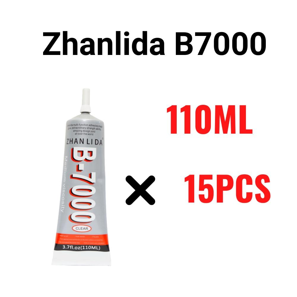 cola transparente para reparo zhanlida pinca adesiva de 110ml b7000 para diy com