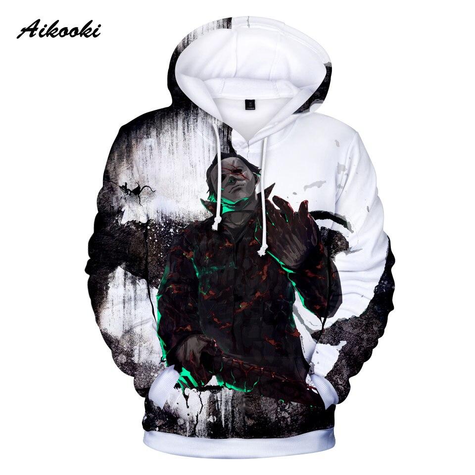 Klassische Scary Movie 3D Hoodies Sweatshirt Michael Myers Gedruckt Männer/frauen halloween Cosplay Kostüme mit kapuze Jungen Pullover