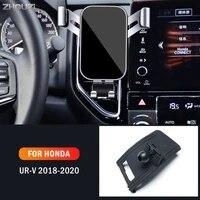 car mobile phone holder for honda urv ur v 2018 2019 2020 air vent mounts gps stand gravity navigation bracket car accessories
